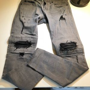 Men's PacSun Skinniest Ripped Jeans size 29x30